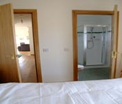 Twin Bedroom with disabled access